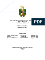 Mikael Timotius Kenny_Universitas Katolik Atma Jaya_PKMKC