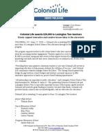 strong schools grant press release