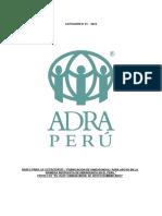 Licitacion N001 2018 ADRA Peru