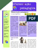 Boletim Diferenciação Pedagógica