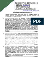 Advt. No.10-2018