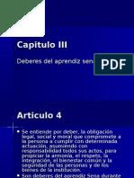 Capitulo III Sena Deberes