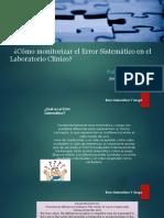 Error Sistematico en Laboratorio