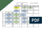 Emplois Temps GI2 à Partir Du 17-9-2018