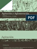 Agitación y Aglomeración Expocicion