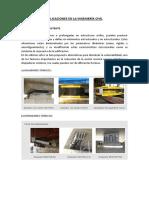 Aplicaciones en La Ingeniería Civil