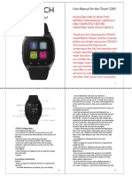3260 ITouch User Manual