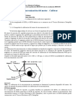 Calibracion Sincronización- Velocidad Motor act 3126