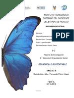 7U5C 3.1 Sociedad, Organización Social. Reporte de Investigacion