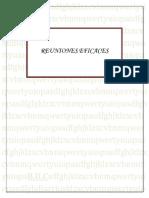 1reuniones Eficaces ( Manual) 1