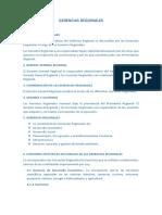 GERENCIAS REGIONALES1
