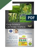 Ale Crop Science Lecture Topics - Ustp Claveria. Final