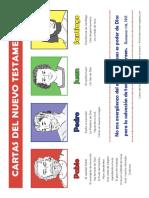 Cartas Del NT Escritores Color