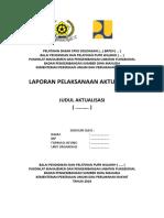 Cover Laporan Latsar & Lembar Pengesahan
