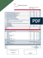 Presupuesto Poza Compost Dalila-Agosto 2016 MODIFICADO