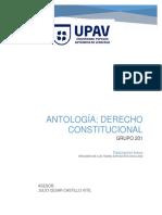Antología Derecho Constitucional