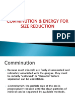 Lecture 3 Comminution and Energy Requirement for Size Reduction.pptx