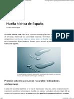 ¿Cuál Es La Huella Hídrica de España_. Estudios y Conclusiones