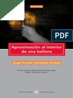 """""""Aproximación al interior de una ballena"""" de Ángel Hernández"""