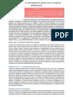 Regulación de La Carcinogénesis Gástrica Por Citoquinas Inflamatorias