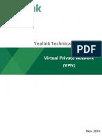 OpenVPN Feature on Yealink IP Phones V81 20
