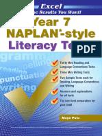Year 7 NAPLAN Style Literacy Tests