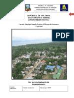 Plan Municipal de Gestion Del Riesgo Los Cordobas