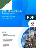 Caltex 2018 Half Year Result Presentation (1)