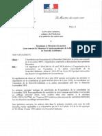 Référendum - Circulaire aux maires de Nouvelle-Calédonie