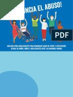 Guía Denuncia El Abuso NNA ACNUDH Sur2018