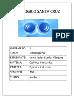 El Hidrogeno  PDF