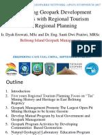 Belitong Island Geopark Management + Dyah Erowati and Santi Dwi Pratiwi + Empowering local socio-economic sustainable development2