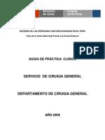 Guias Clinicas Servicio Cirugia 2009