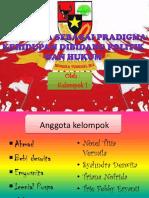 Tugas Pancasila Sebagai Pradigma Kelompok 1