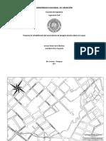 Proyecto de Rehabilitación Del Canal Abierto de Desagüe Pluvial Urbano en Luque (Planos)