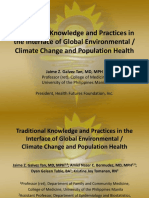 Traditional Knowledge Human Health & Climate Change