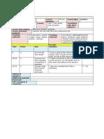 34 Focus 4 Lesson Plan Unit 2 TEST Results