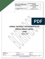 MANUAL DEL SERVICIO MEDICO LABORAL DEL IUPSM EXTENSI�N  MARACAY
