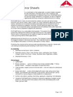 Allplastics - AcrylicMirrorTechnicalInfo