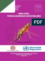 Buku Saku Penatalaksanaan Malaria 2017