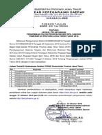 PEMBERITAHUAN CPNSD Pemprov Jatim Tahun 2018 - Jadwal 15 Oktober 2018.pdf