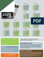 Afval- En Oudpapierkalender 2018 Algemeen