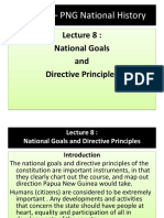 Lecture 8 - National Goals and Directive Prinicples  BY YAMSOB MOSES