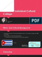 individual culture project