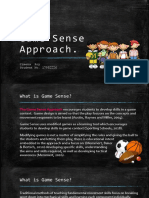 game sense approach presentation