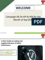 Safety Campaign-06- On KPI & KPA_TMLSep_2018