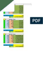 Interpolacion en Excel A