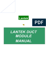 Manual Duct