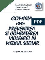 Combaterea Violentei 2018-2019 - Site