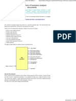 The Structure of Business Analysis Documents _ BRILLIANT IDEA's COLLECTION